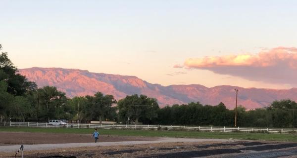sandia-sunset