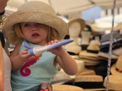 Hat Shopping in Campo de Fiori