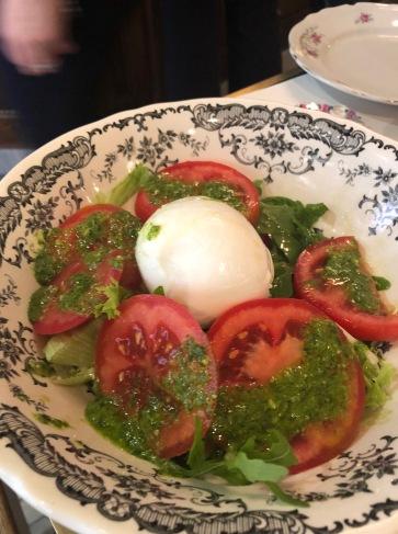 Caprese Salad at La Buvette